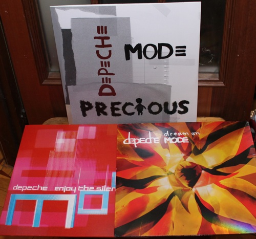 Depeche Mode - Enjoy The Silence'04, Dream On (2xLP), Precious (2xLP) - Волошины.РФ