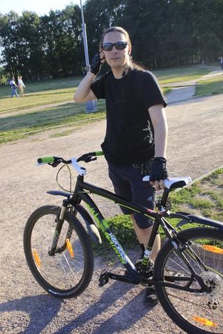 Велопрогулка в паре Дружба, на аллее Алисы Селезнёвой - Волошины.РФ