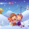Лыжи и сноуборд - Рамки по теме: детский спорт - Волошины.РФ