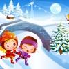 Дети на коньках - Рамки по теме: детский спорт - Волошины.РФ