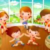 Детская гимнастика - Рамки по теме: детский спорт - Волошины.РФ
