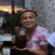 Галина говорит тост - День рождения в стиле Древней Греции - Волошины.РФ