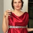 Валентина с вином - День рождения в стиле Древней Греции - Волошины.РФ