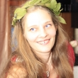 Валетина в венке - День рождения в стиле Древней Греции - Волошины.РФ
