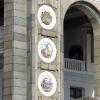 Керамические медальоны северного речного вокзала - Охота за памятниками - Волошины.РФ