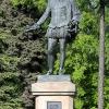 Мигель де Сервантес с эфесом, но без шпаги - Охота за памятниками - Волошины.РФ