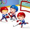 Детский хоккей - Рамки по теме: детский спорт - Волошины.РФ