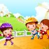 Дети на роликах - Рамки по теме: детский спорт - Волошины.РФ