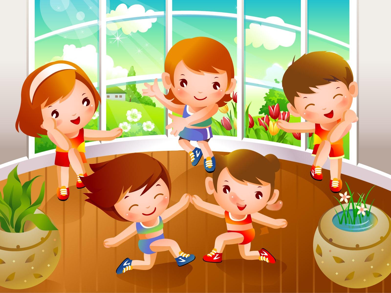 Детская гимнастика рамки по теме