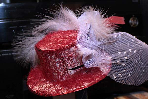 Вторая шляпка с задней стороны - Мини-шляпки - Волошины.РФ